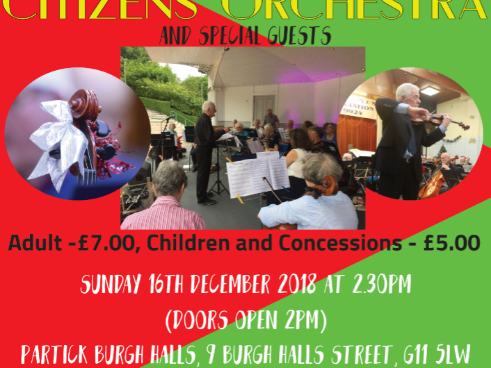 Glasgow's Golden Generation Christmas Concert
