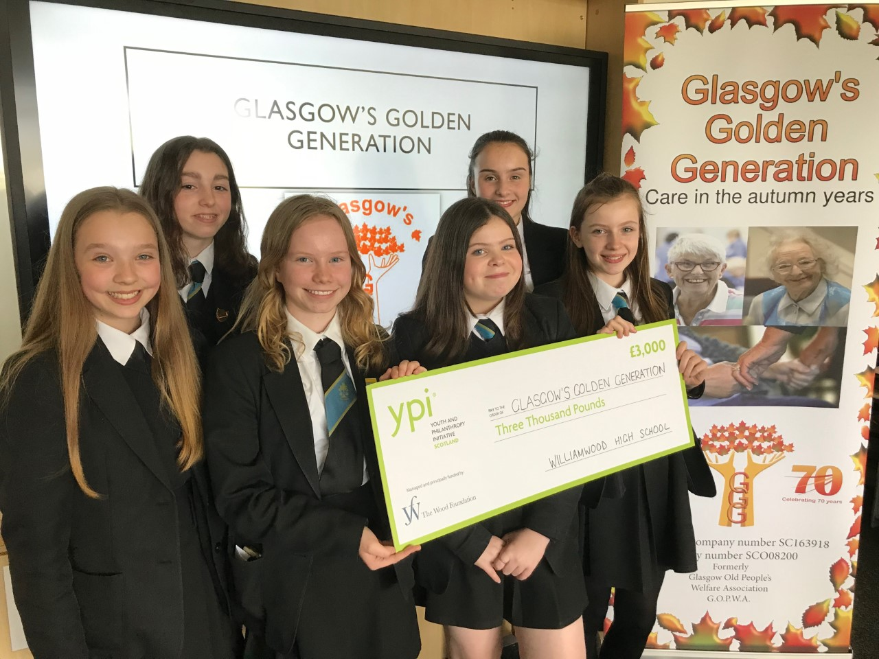 Williamwood School choose GGG for YPI