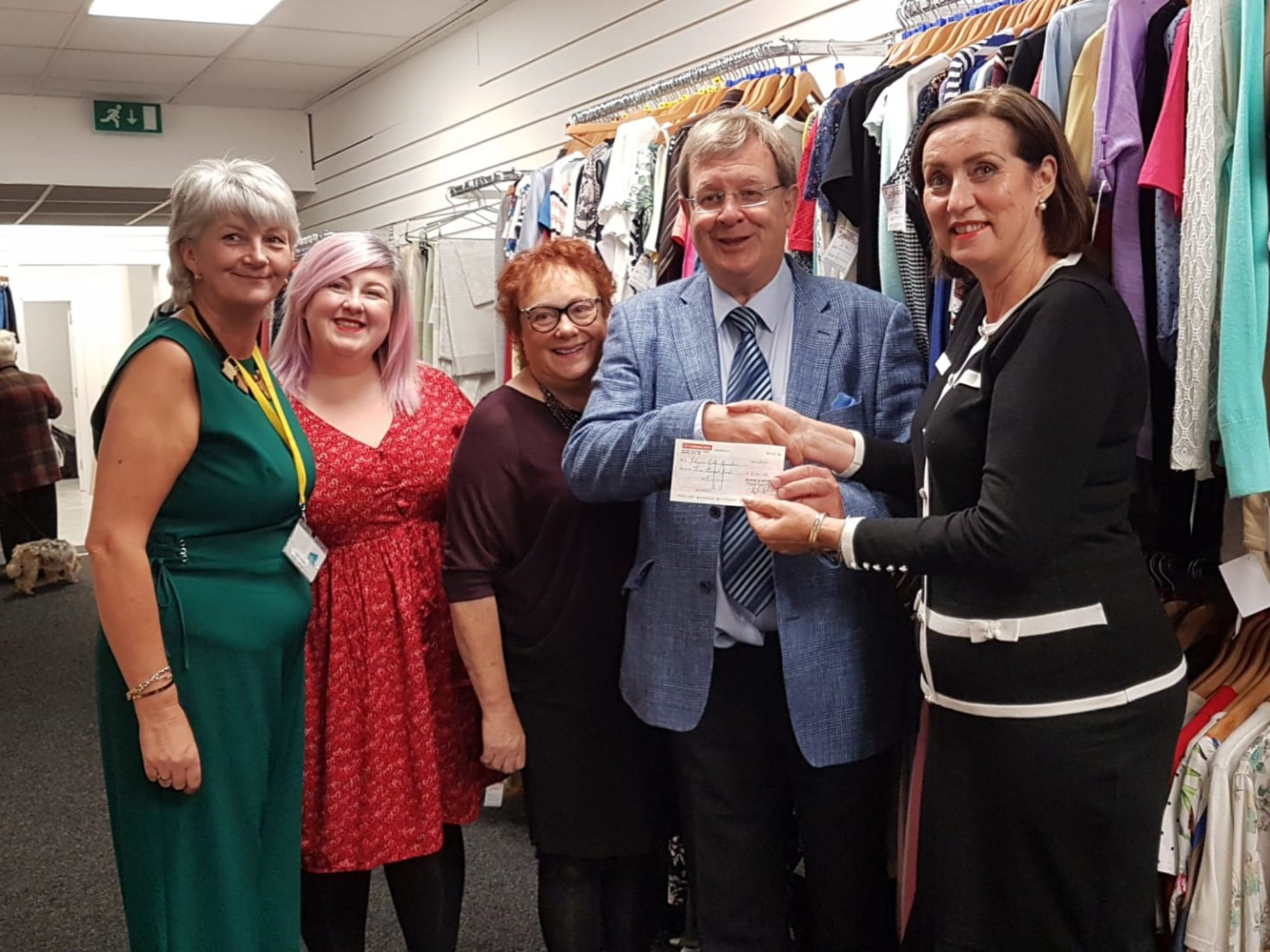 Order of St John Donate £3,000