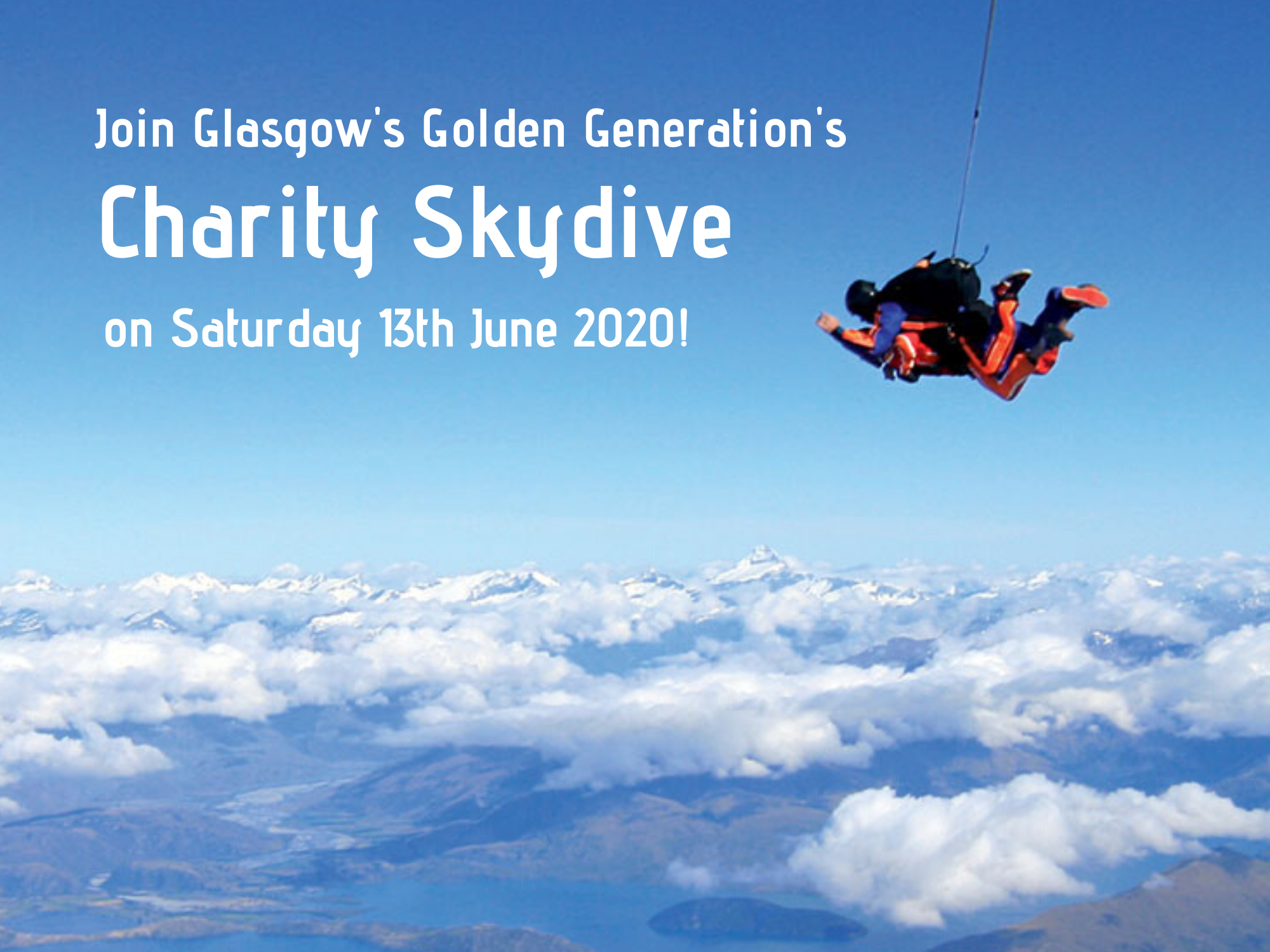 Join our Skydive 2020!