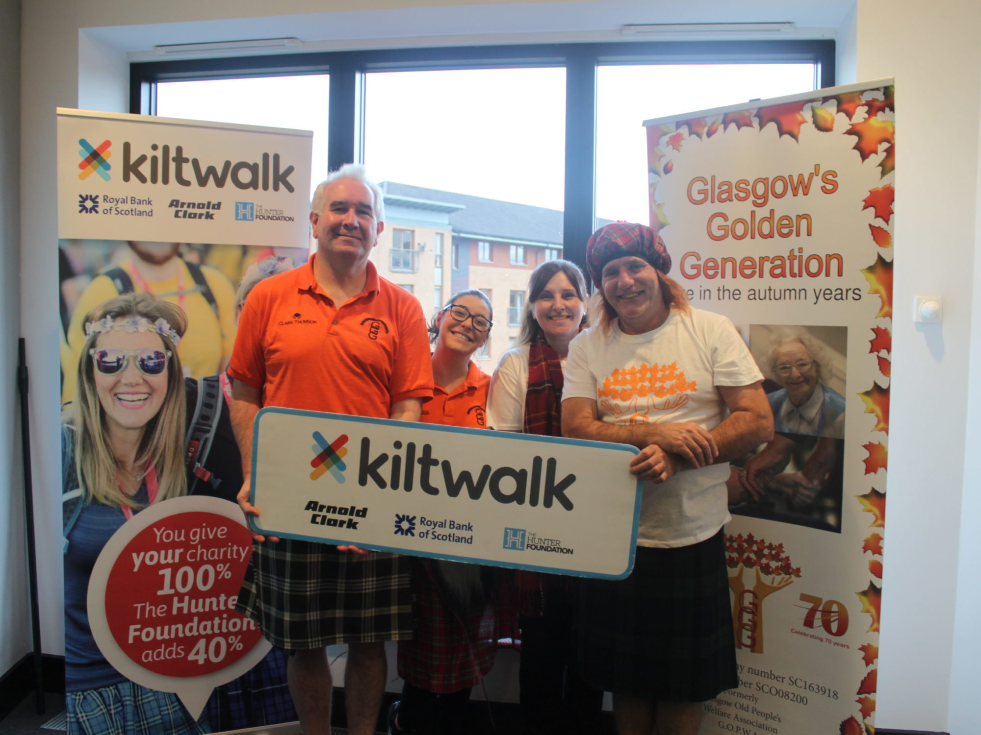 #TeamGGG at the Kiltwalk 2020!