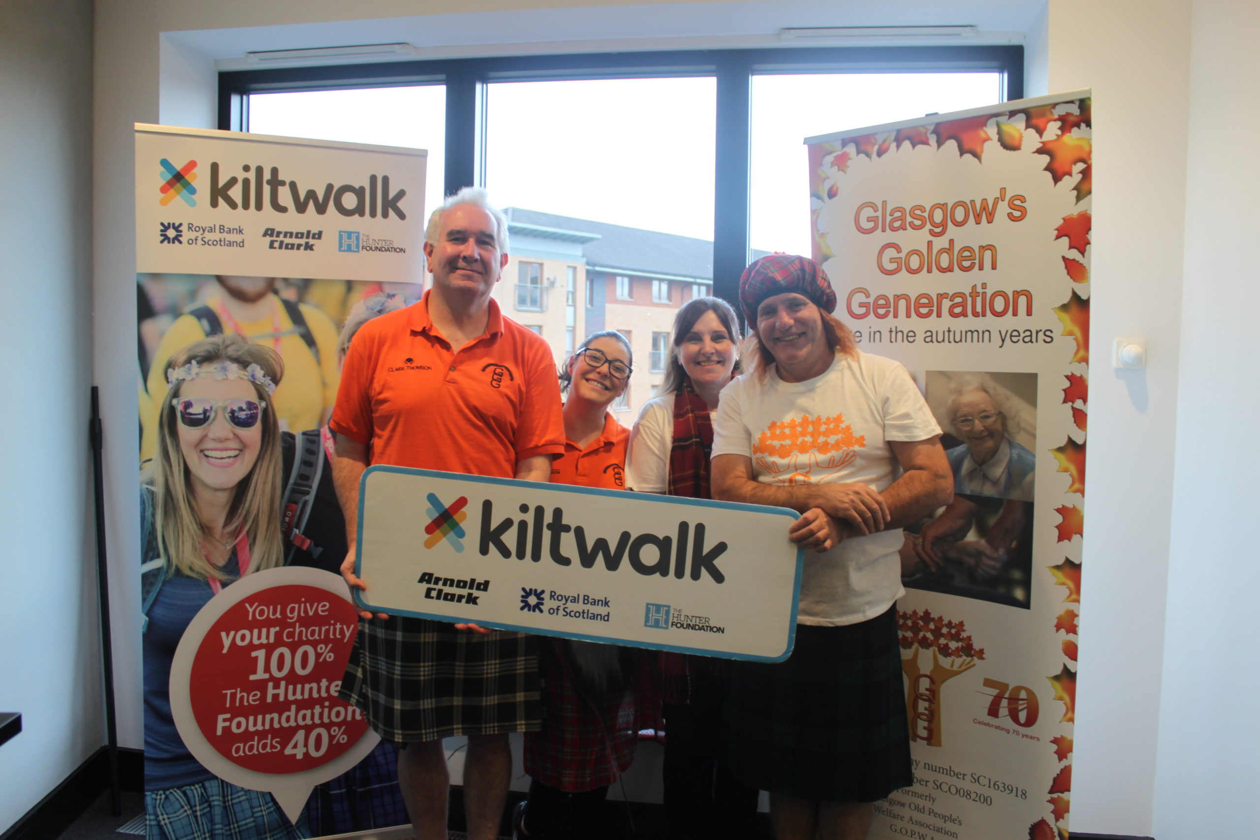#TeamGGG at the Kiltwalk 2020!