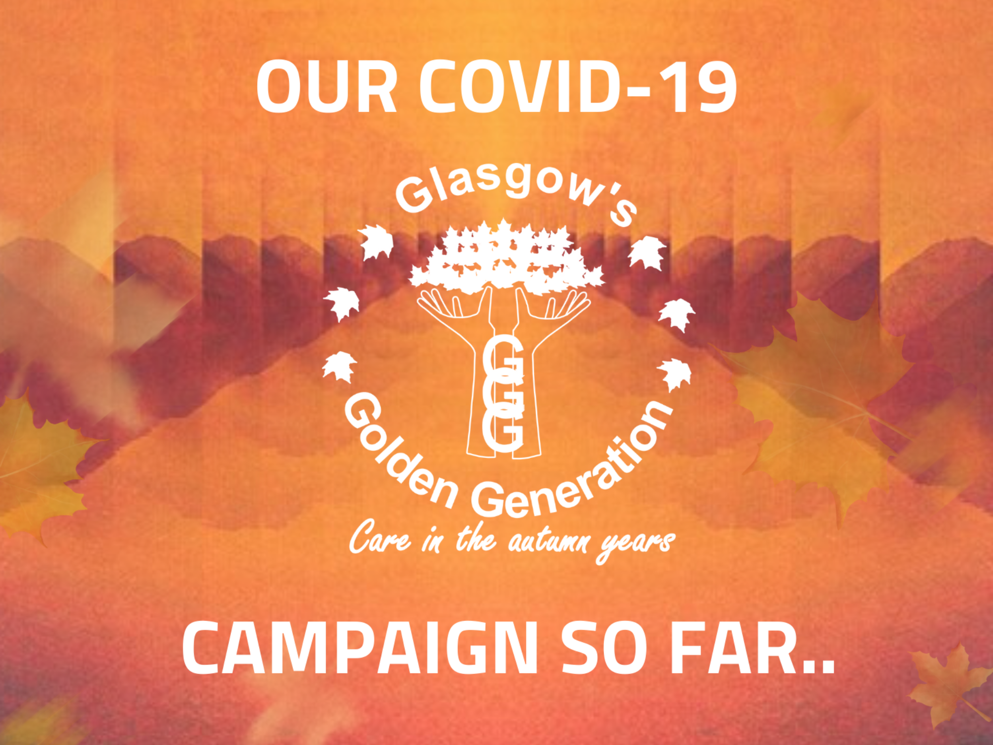 Our Covid-19 Campaign so far..