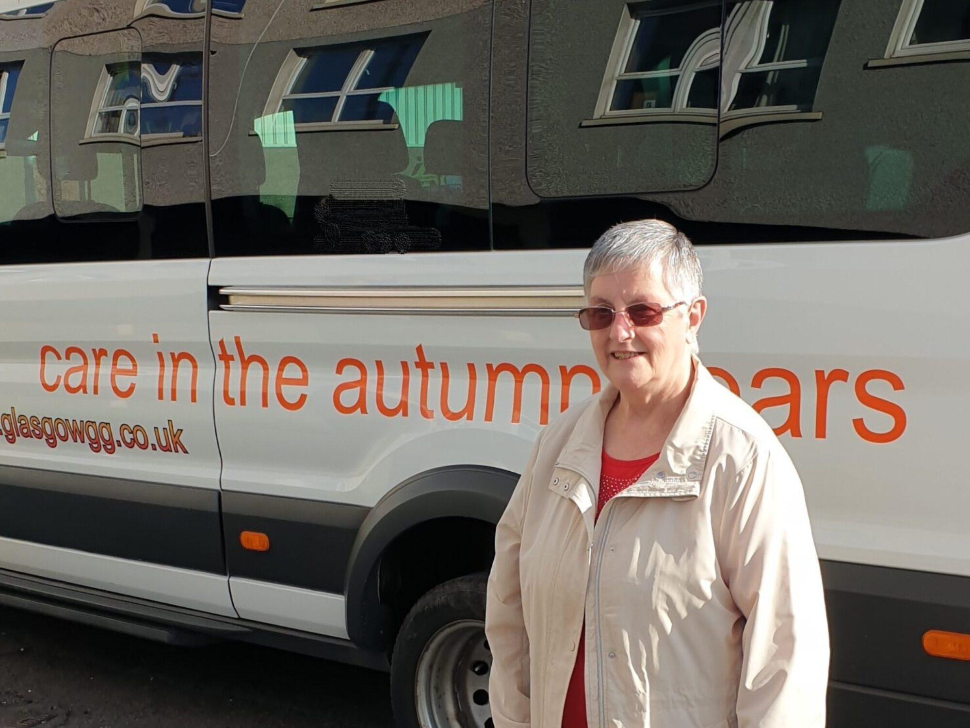 Glasgow's Golden Generation delivers 10,000 parcels to older adults