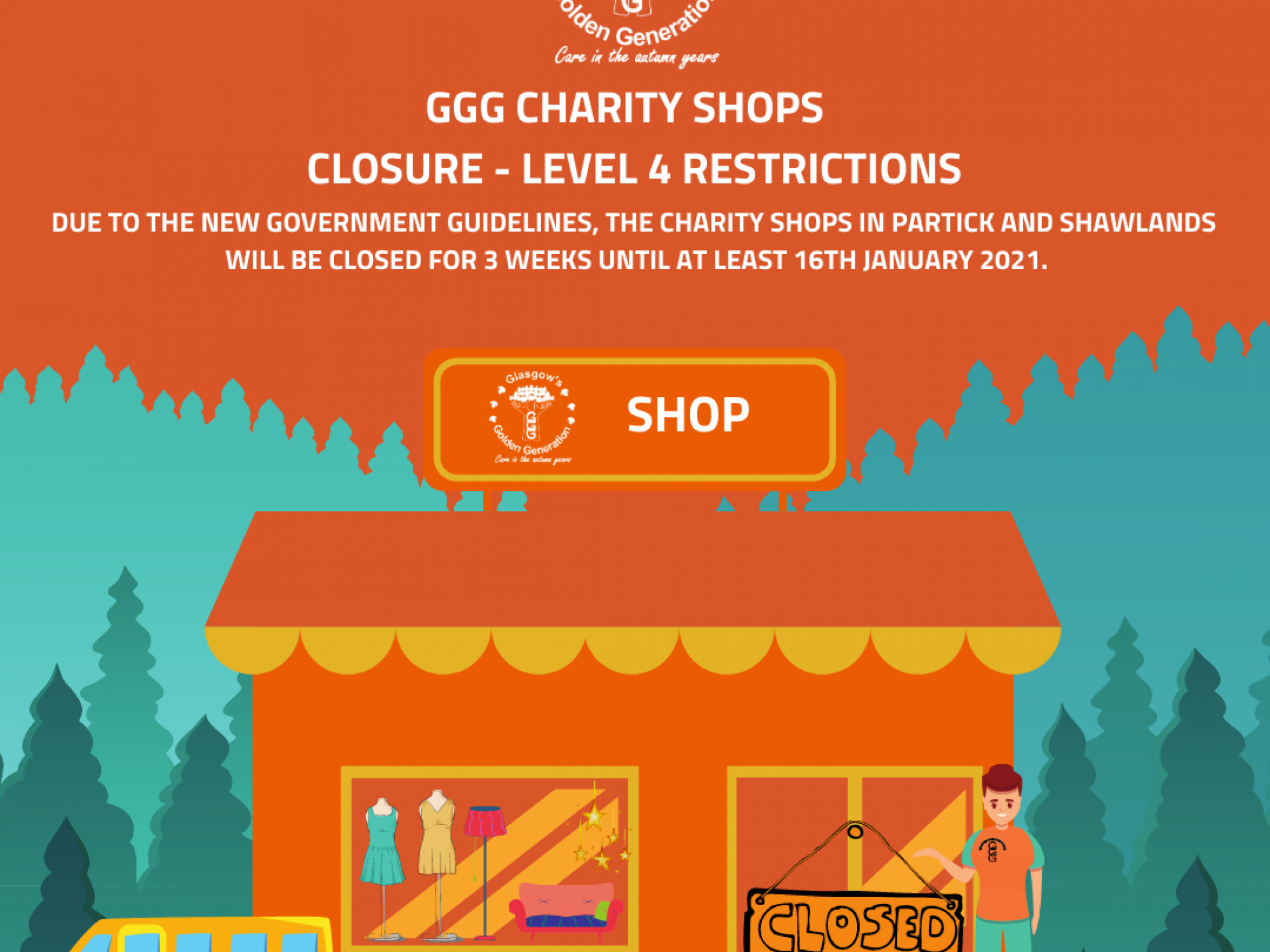 Charity Shop Closure