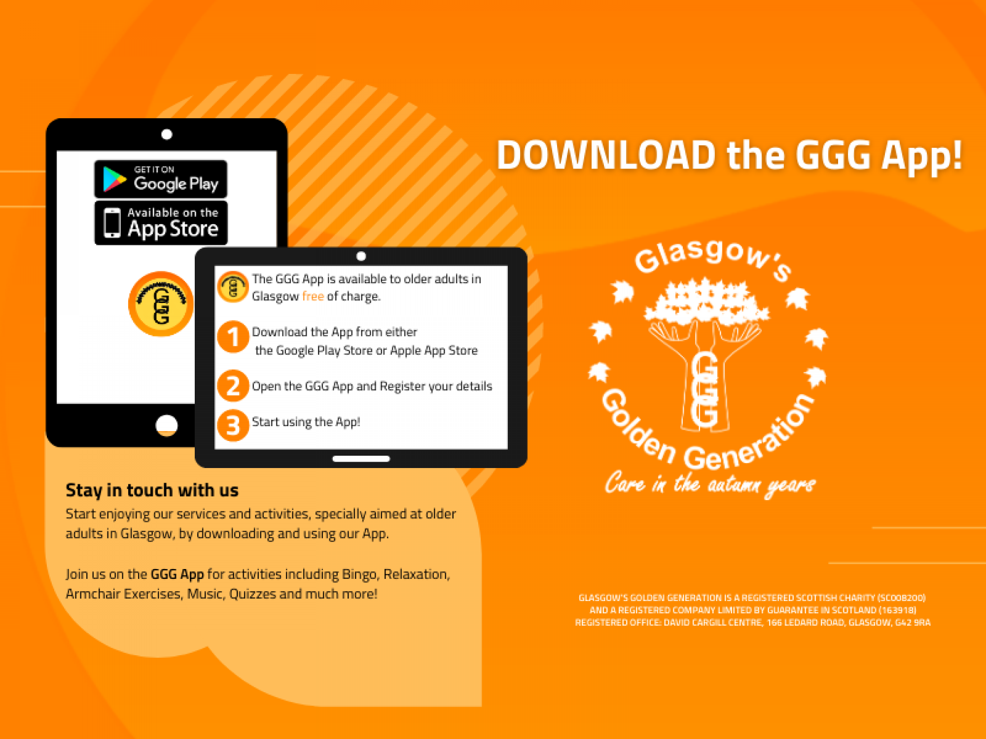 Download the GGG App